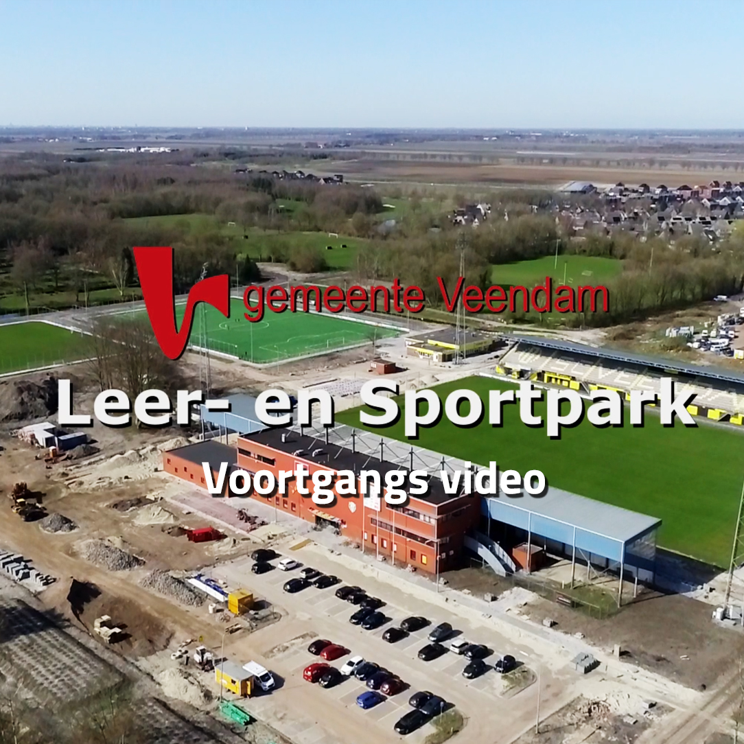 Voortgang Leer- en Sportpark Veendam video